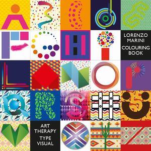 Type visual coloring book english. Ediz. lusso. Ediz. multilingue