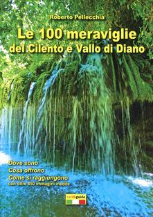 Le 100 meraviglie del Cilento e Vallo di Diano. Con mappa - Roberto Pellecchia - copertina