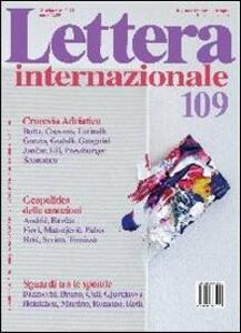 Lettera internazionale. Vol. 109