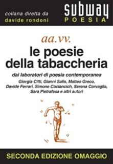 Le poesie della tabaccheria - Davide Rondoni - ebook