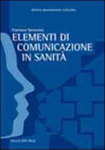 Elementi di comunicazione in sanità
