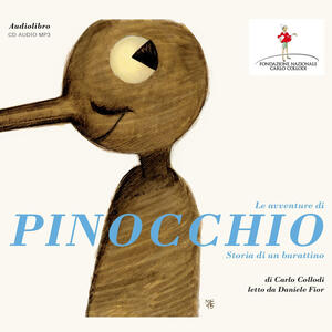 Le avventure di Pinocchio. Storia di un burattino. Letto da Daniele Fior. Audiolibro. CD Audio formato MP3