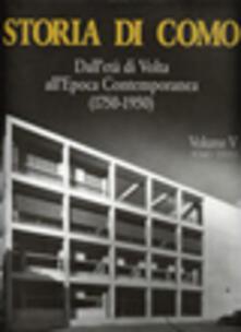 Daddyswing.es Storia di Como. Dall'età di Volta all'epoca contemporanea (1750-1950). Vol. 5\3 Image