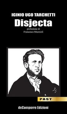 Disjecta - Igino Ugo Tarchetti - copertina