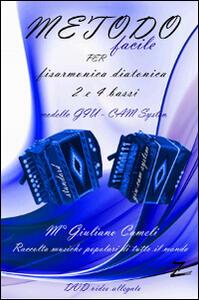 Metodo facile a numeretti per fisarmonica diatonica (organetto) 2 e 4 bassi