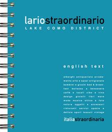 Lariostraordinario. Lake Como district - Viviana Musumeci - copertina