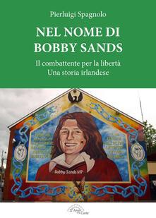 Nel nome di Bobby Sands. Il combattente per la libertà. Una storia irlandese - Pierluigi Spagnolo - copertina