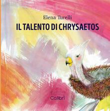 Camfeed.it Il talento di Chrysaetos. Ediz. a caratteri grandi Image