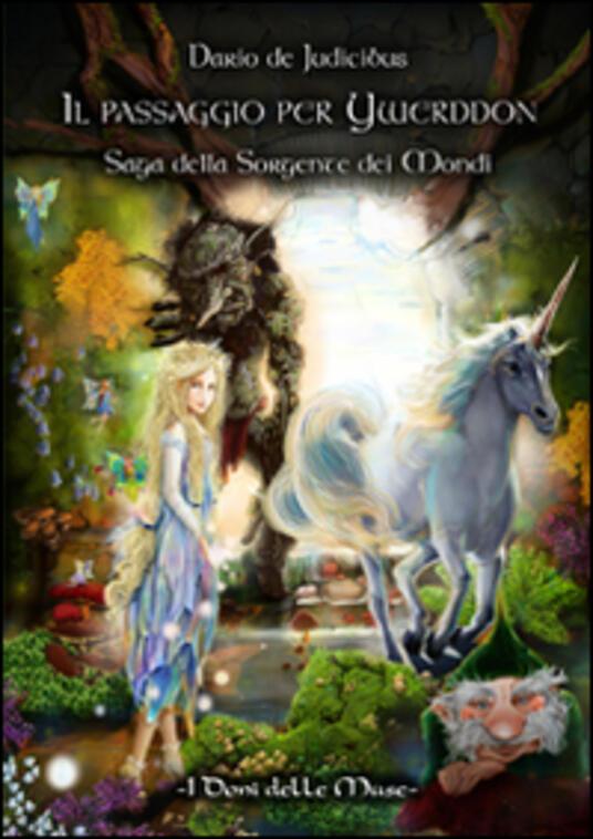 Il passaggio per Ywerddon - Dario De Judicibus - copertina