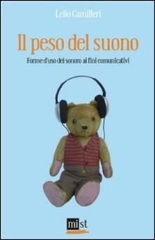 Il peso del suono. Forme d'uso del sonoro ai fini comunicativi - Lelio Camilleri - ebook