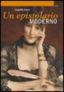 Un epistolario moderno - Leopoldo Lenza - copertina