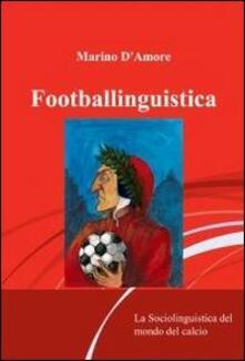 Footballinguistica - Marino D'Amore - copertina