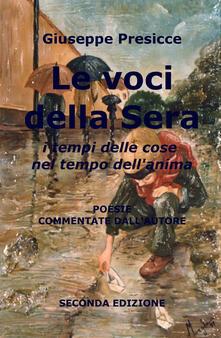 Le voci della sera - Giuseppe Presicce - copertina