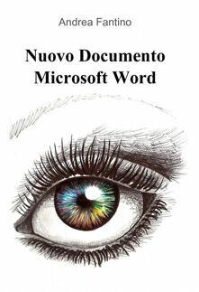 Amatigota.it Nuovo documento Microsoft Word Image