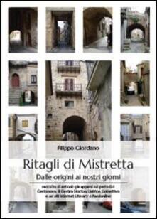 Ritagli di Mistretta - Filippo Giordano - copertina
