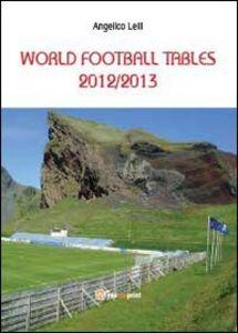 World football tables 2012/2013