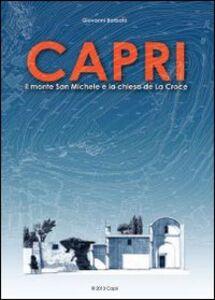 Capri. Il monte San Michele e la chiesa de La Croce