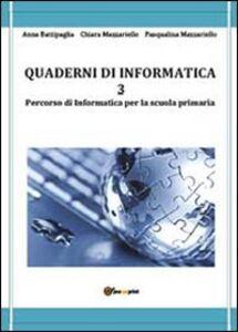 Quaderni di informatica. Vol. 3