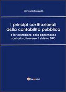 I principi costituzionali della contabilità