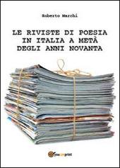Le riviste di poesia in Italia a meta degli anni Novanta