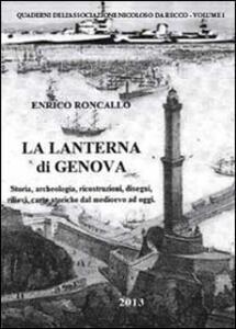 La lanterna di Genova - Enrico Roncallo - copertina