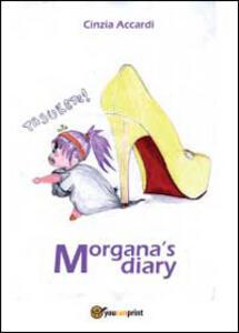 Morganas Diary - Cinzia Accardi - copertina