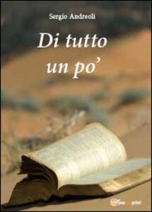 Di tutto un po' - Sergio Andreoli - copertina