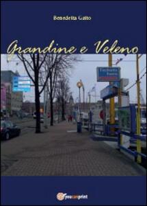 Grandine e veleno - Benedetta Gatto - copertina