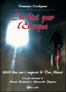 In bici per l'Europa - Domenico Occhipinti - copertina