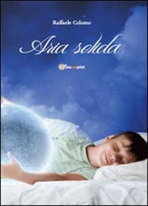 Aria solida - Raffaele Colomo - copertina