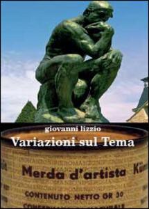 Variazioni sul tema - Giovanni Lizzio - copertina