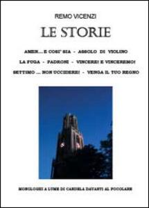 Le storie - Remo Vicenzi - copertina