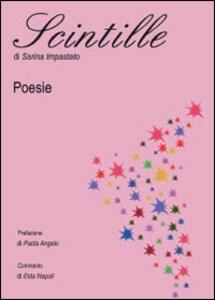 Scintille - Sarina Impastato - copertina
