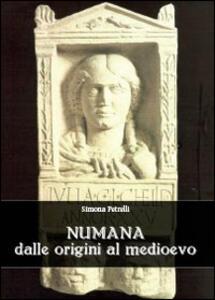 Numana dalle origini al Medioevo - Simona Petrelli - copertina