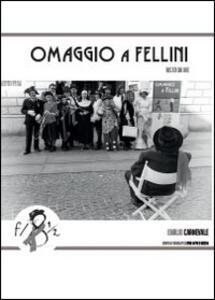 Omaggio a Fellini visto da me - Emilio Carnevale - copertina