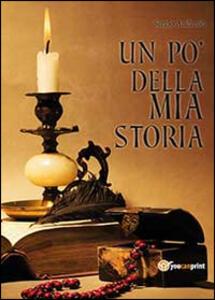 Un po' della mia storia - Sergio Andreoli - copertina