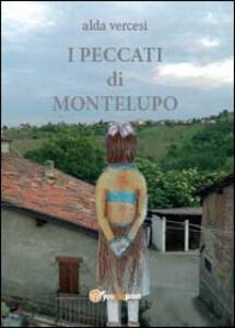 I peccati di Montelupo - Alda Vercesi - copertina