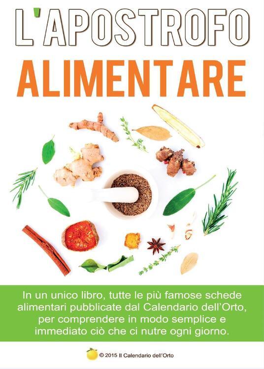 L' apostrofo alimentare - Emanuele D'Alessio - copertina