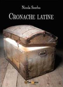 Cronache latine - Nicola Scerbo - copertina