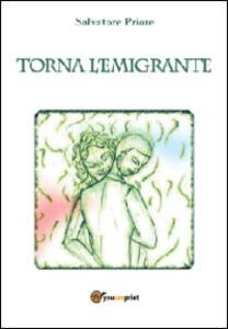 Torna l'emigrante - Salvatore Priore - copertina