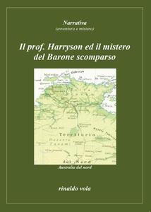Il prof. Harryson ed il mistero del Barone scomparso - Rinaldo Vola - copertina