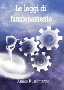 Le leggi di funzionamento - Amato Russomanno - copertina