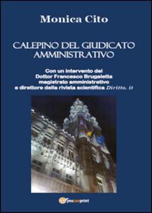 Calepino del giudicato amministrativo - Monica Cito - copertina