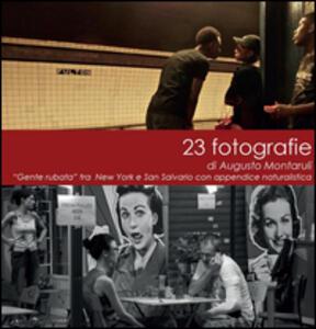 23 fotografie - Augusto Montaruli - copertina