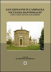 San Giovanni in Campagna «Ecclesia Baptismalis»