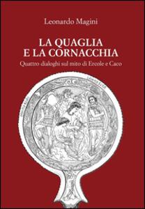 La quaglia e la cornacchia - Leonardo Magini - copertina