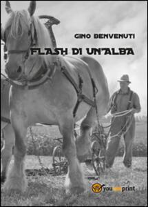 Flash di un'alba - Gino Benvenuti - copertina