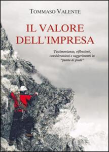 Il valore dell'impresa - Tommaso Valente - copertina