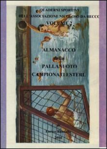 Festivalpatudocanario.es Almanacco della pallanuoto. Campionati esteri Image