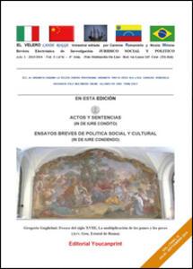 El Velero lanse rogge. Luglio - Settembre 2014. Ediz. bilingue - Nicola Milione,Carmine Augusto Romaniello - copertina